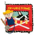 美國Manhattan Toy-農場朋友軟布書