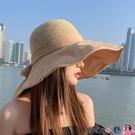 熱賣漁夫帽 漁夫帽女夏大沿春秋韓版百搭防紫外線防曬遮陽鏤空遮臉太陽帽子 coco