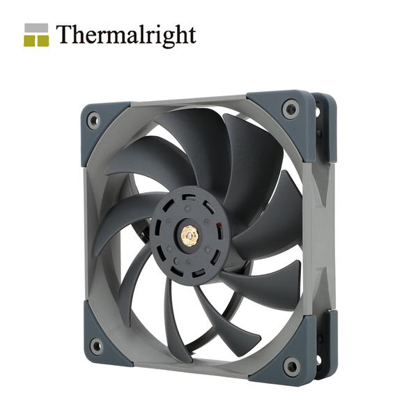 Thermalright 利民 TL-C12PRO-G 12cm PWM 機殼風扇 灰黑色 TR0201