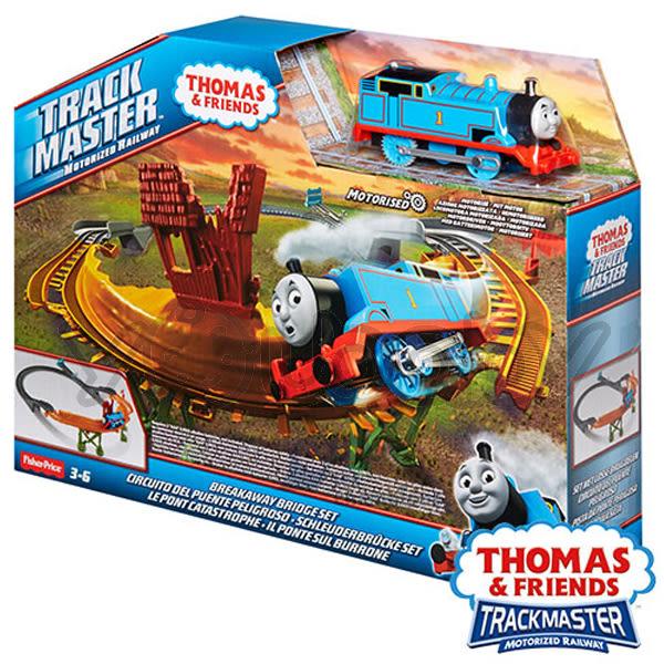 湯瑪士 THOMAS & FRIENDS 電動系列-競速過彎軌道遊戲組