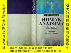 二手書博民逛書店HUMAN罕見ANATOMY(Third Edition)編號A