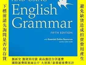 二手書博民逛書店Understanding罕見And Using English Grammar With Essential O