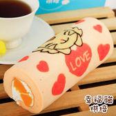 糖果貓烘焙.天使貓蜜桃蛋糕捲(420g/條)★預購﹍愛食網