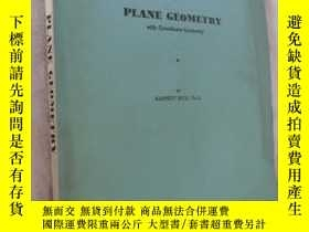 二手書博民逛書店Schaum s罕見Outline of Principles and Problems of Plane Geo