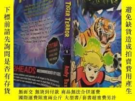 二手書博民逛書店beastly罕見tiger terror 猛虎恐怖Y200392