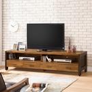 【森可家居】巴菲特6.5尺電視櫃10ZX372-2 長櫃 雙色 積層木紋 北歐工業風 MIT台灣製造