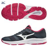MIZUNO EZRUN LX 女鞋 慢跑 路跑 耐磨 緩震 透氣 黑 灰【運動世界】J1GF181802