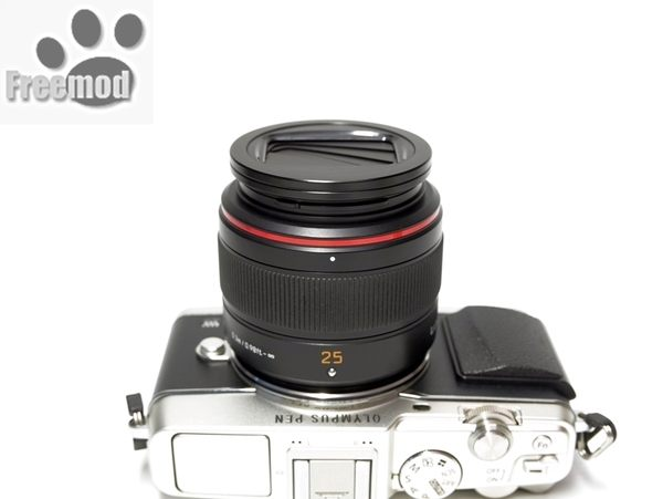 又敗家@Freemod半自動鏡頭蓋X-CAP2 52mm鏡頭蓋適Sony索尼Carl Zeiss E 32mm F1.8 ZA Touit卡爾蔡司F/1.8 E32 E32Z Z