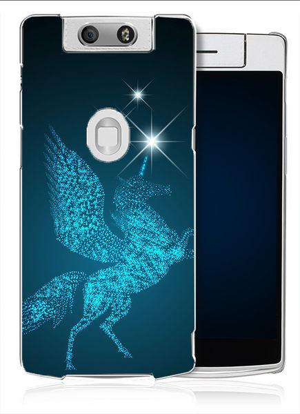 ✿ 3C膜露露 ✿【星星飛馬*水晶硬殼】OPPO N3手機殼 手機套 保護套 保護殼