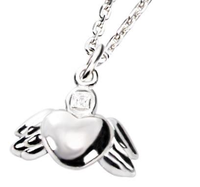 KISS KISS 幸福童話 – 愛心純銀項鍊