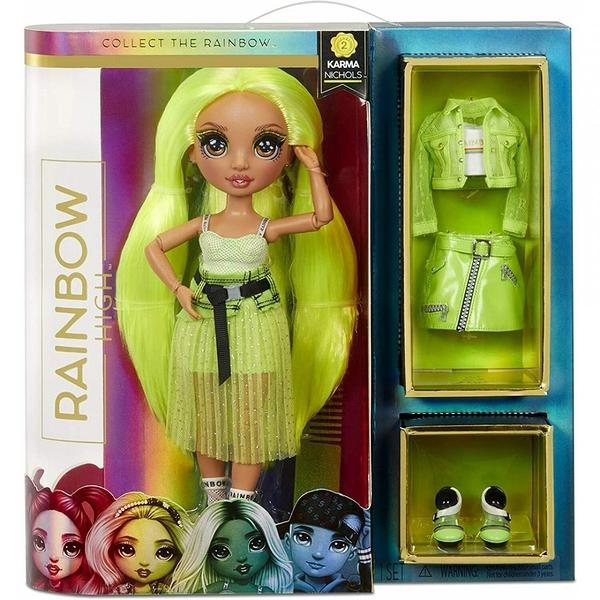 《 Rainbow Surprise 》七彩時尚娃娃-Karma Nichols / JOYBUS玩具百貨