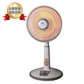【台灣SPT尚朋堂】台灣製 傾倒自動斷電 40cm鹵素定時電暖器 (SH-8050T)