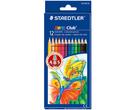 STAEDTLER 施德樓 快樂學園 油性色鉛筆 12色