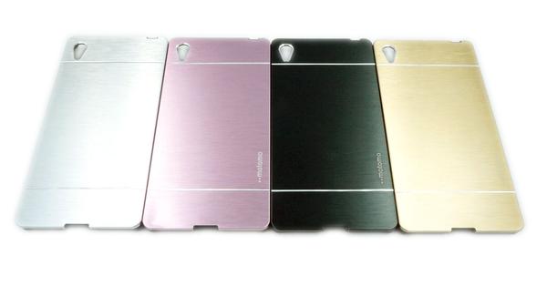 【motomo】Sony Z3 Plus/Z3+/Z4 鋼化金屬拉絲手機殼 超薄 保護殼 後蓋 索尼