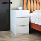 【nicegoods】日本製 Shinwa伸和 35面寬單層抽屜收納箱26L-3入-DIY