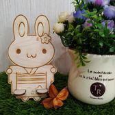 兩件式名片架 手機座【兔兔girl】