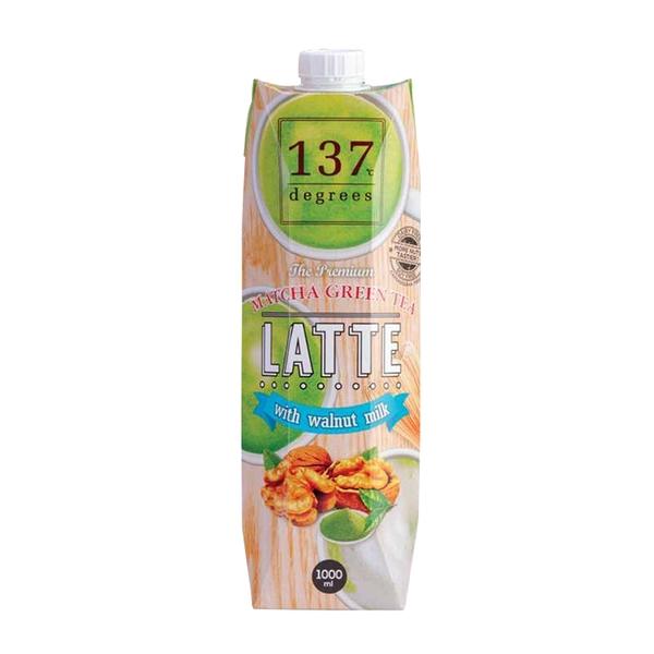 【137degrees】抹茶核桃飲 1000ml/瓶