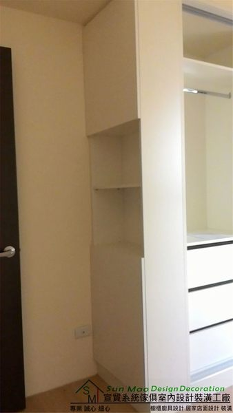 系統家具/系統櫃/木工裝潢/平釘天花板/造型天花板/工廠直營/系統家具價格/系統拉門衣櫃-sm0583