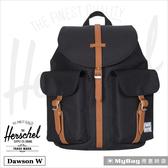Herschel Dawson X-Small 後背包 黑色 雙口袋休閒後背包 Dawson XS-001 得意時袋