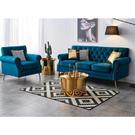 [紅蘋果傢俱]JX-001 1+2+3 輕奢沙發椅 布藝沙發 皮沙發 沙發 輕奢風 五金
