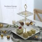 水果盤歐式陶瓷水果盤客廳創意現代糖果點心...