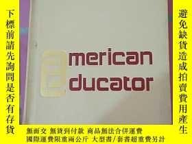 二手書博民逛書店A38755罕見《THE AMERICAN EDUCATOR E