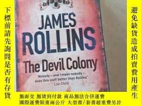 二手書博民逛書店james罕見rollins the devil colonyY447092 James Rollins Ja