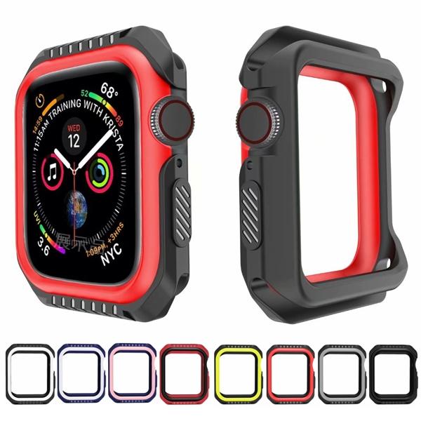 Apple Watch Series 錶殼 錶框 S6 S5 S4 S3 手錶保護殼 防摔 雙色錶框 蘋果錶框 38mm 40mm 42mm 44mm