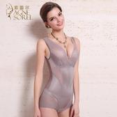夏季薄款無痕塑身衣連體 產後瘦身收腹提臀束腰塑形美體束身衣女