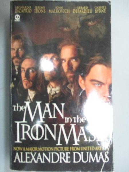 【書寶二手書T9/原文小說_KQX】The Man in the Iron Mask_Dumas, Alexandre/