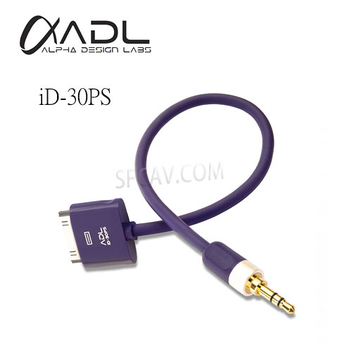 【勝豐群音響新竹】FURUTECH ADL iD-30PS  i-device cable Doc to 3.5mm 傳輸線 0.18m