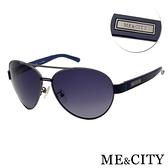 【南紡購物中心】【SUNS】ME&CITY 爵士飛行官金屬偏光太陽眼鏡 抗UV400(ME1106 C08)