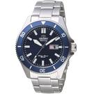 ORIENT東方錶WATER RESISTANT系列200m潛水錶 RA-AA0009L 藍