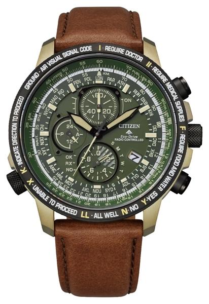 【分期0利率】星辰錶 CITIZEN 電波錶 鈦金屬 44.3mm 全新原廠公司貨 AT8194-11X