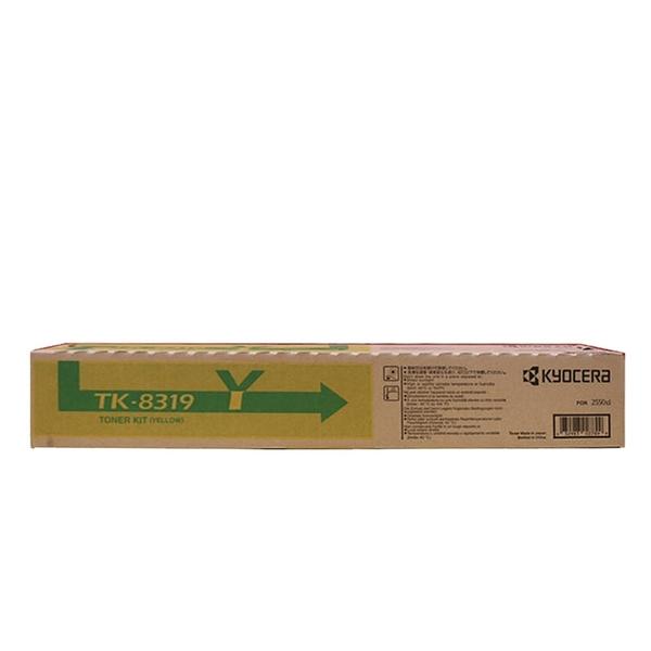 原廠碳粉匣 Kyocera 黃色 TK-8319Y /適用 Kyocera TASKALFA 2550CI
