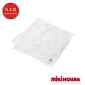 MIKI HOUSE BABY 日本製星星紗布浴巾(白)