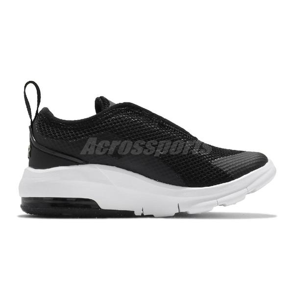 Nike 休閒鞋 Air Max Motion 2 TDE 黑 白 金勾 童鞋 小童鞋 氣墊 【ACS】 AQ2744-019