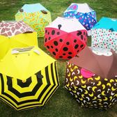 歐美風兒童雨傘男女小孩小學生傘可愛卡通印花幼兒園寶寶傘超輕3Djy 满398元85折限時爆殺