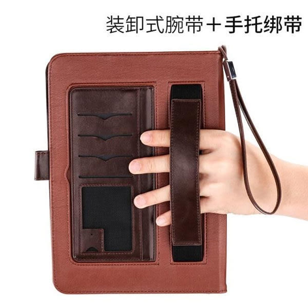 iPad Mini4 Mini 1 2 3 手拿 平板皮套 皮套 商務手拿 手托 插卡 智能休眠 皮革全包覆 平板套