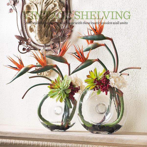 模擬花假花 套裝 花藝 客廳餐桌 裝飾花 花瓶花束 -bri01087