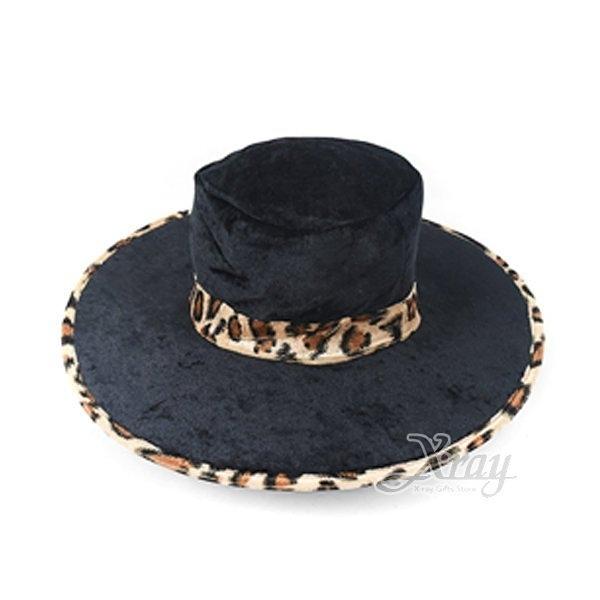 節慶王【W383150】西部牛仔彩帽-豹紋黑,萬聖節/Party/造型/牛仔帽/魔術表演/舞會/園遊會/頭飾