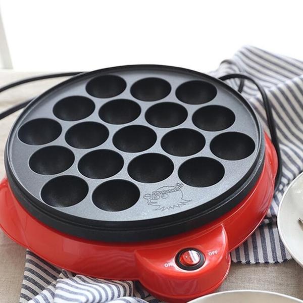 煎鍋家用小型章魚小丸子機章魚燒機燒烤盤商用小丸子鍋材料工具套餐 阿卡娜