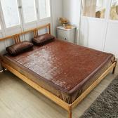 竹間涼感冰絲兩用碳化麻將竹單人蓆100x190cm