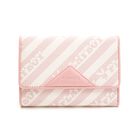 PLAYBOY- 三折式短夾 粉潮流系列 -粉色