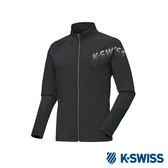 K-Swiss Jersey Jacket 韓版運動外套-男-藍