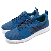 【六折特賣】Asics 慢跑鞋 Kanmei 藍 黑 輕量 基本款 男鞋【ACS】 T7H1N4358
