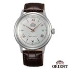 ORIENT東方錶 DATE II 羅馬時標 手動上鍊機械腕錶-白x40.5mm FAC00008W0