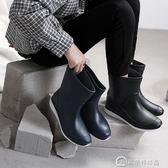 男士水鞋雨靴男款防水鞋高筒中筒加絨雨鞋膠鞋水靴男18234 美斯特精品