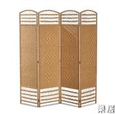 中式屏風 客廳臥室經濟型玄關折疊移動現代簡約實木小戶型隔斷裝飾JY【快速出貨】