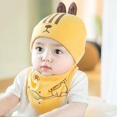 嬰兒帽子0-3-6-12個月男女寶寶帽子春秋兒童秋冬季新生兒胎帽1歲